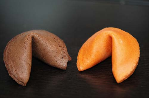 100 Assorted Colors Halloween Fortune Cookies