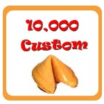 10,000 Custom Fortune Cookies