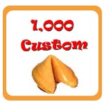 1,000 Custom Fortune Cookies