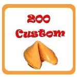 200 Custom Fortune Cookies