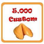 5,000 Custom Fortune Cookies