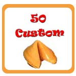 50 Custom Fortune Cookies