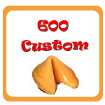 600 Custom Fortune Cookies