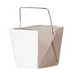 (Large) Chinese Take-Out Boxes (white)