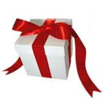 Medium White Gift Box