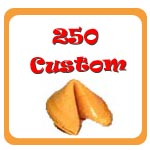 250 Custom Fortune Cookies