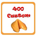 400 Custom Fortune Cookies