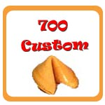 700 Custom Fortune Cookies